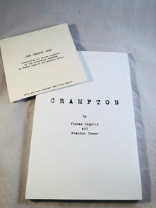 Thomas Ligotti & Brandon Trenz - Crampton:  A Screenplay, Durtro Press 2002, 1st Edition with CD The Unholy City