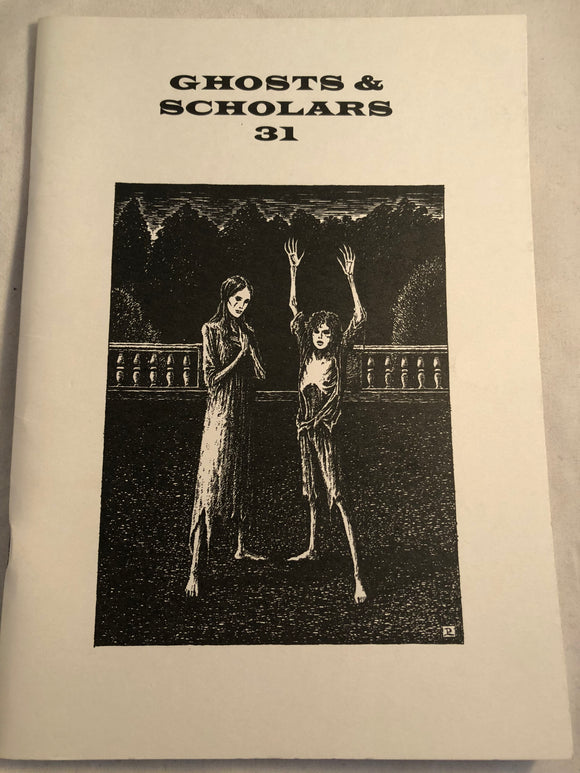 Ghosts & Scholars - Haunted Library, Rosemary Pardoe 2000, Issue 31