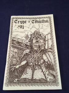Crypt of Cthulhu - A Pulp Thriller and Theological Journal, Volume 15, Number 91, Hollowmas 1995, Robert M. Price, S. T. Joshi & Will Murray