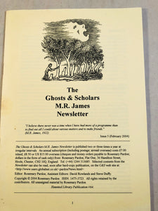 The Ghosts & Scholars - M. R. James Newsletter, Haunted Library Publications, Issue 4 (August 2003)