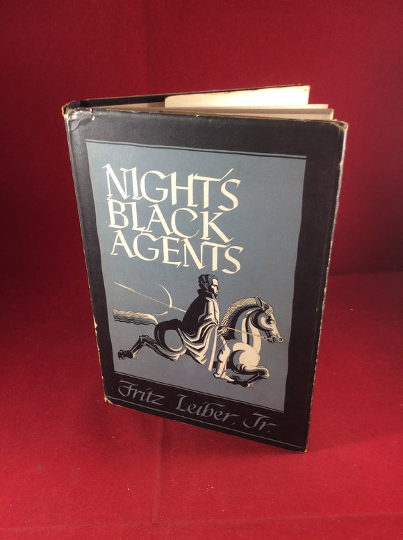Fritz Leiber, Jr, Night's Black Agents, Arkham House, 1947, Limited (3000), 1st Book, 1st Edition.