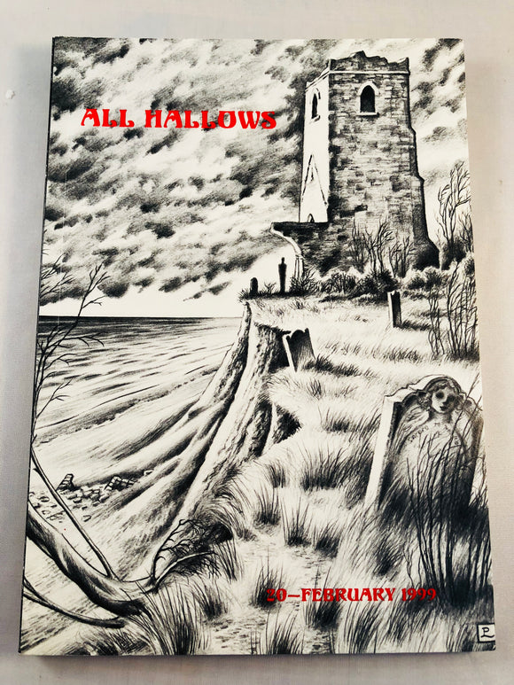 All Hallows 20 - 20th Feb 1999, The Journal of the Ghost Story Society, Barbara Roden & Christopher Roden, Ash-Tree Press