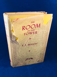 E. F. Benson - The Room in the Tower, Alfred A. Knopf 1929, 2nd Impression, Inscribed by the Author