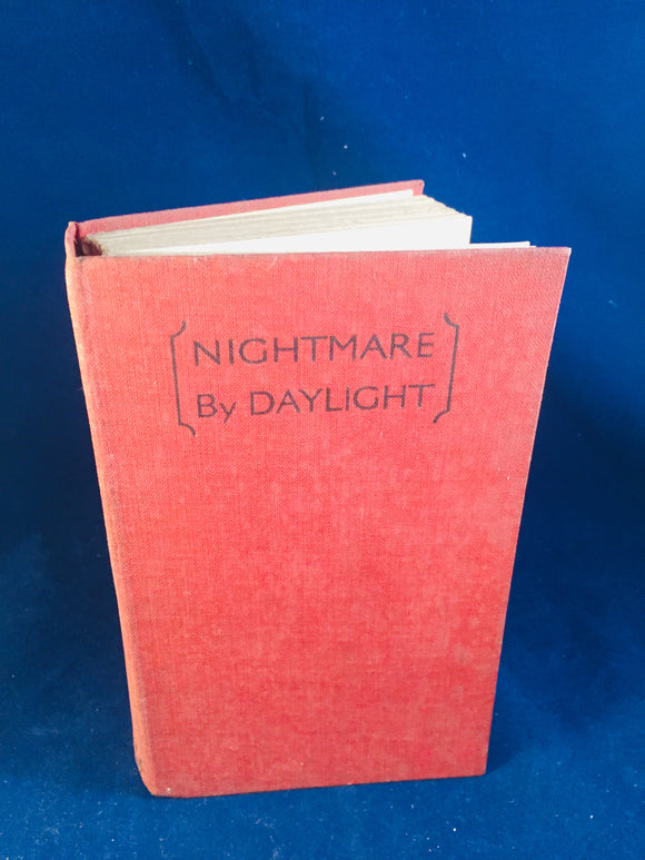 Christine Campbell Thomson-Nightmare By Daylight, Selwyn & Blount, Undated Book 11)