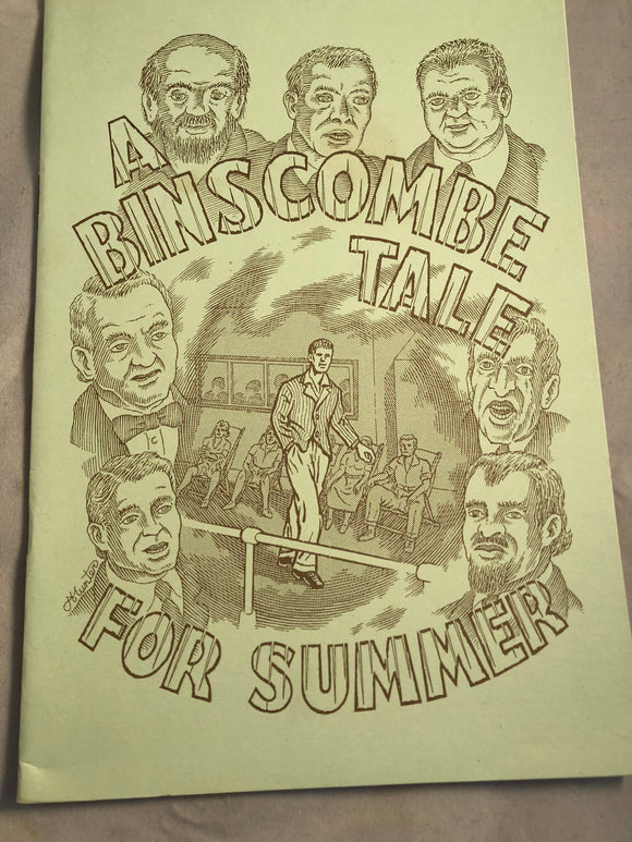 A Binscombe Tale for Summer by John Whitbourne - Haunted Library, Rosemary Parode 1996
