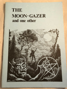 The Moon-Gazer and one other - Stories by D.N.J Illustrated by Alan Hunter, Haunted Library, Rosemary Parode 1988