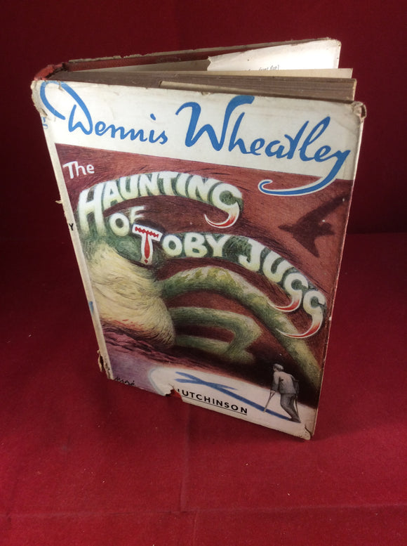 Dennis Wheatley, The Haunting of Toby Jugg, Hutchinson. 1956 reprint
