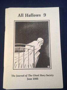All Hallows 9 - June 1995, Journal Ghost Story, Barbara & Christopher Roden, Ash-Tree