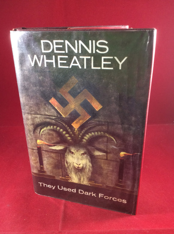 Dennis Wheatley, They Used Dark Forces, Hutchinson, 1964, First  Edition, Signed and Inscribed to Thomas Joy.