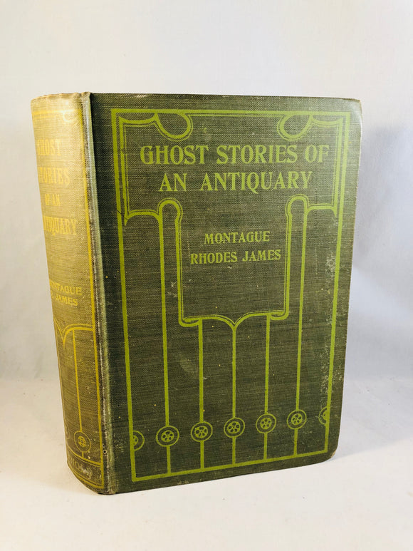 M. R. James - Ghost Stories of an Antiquary, Rare Collonial Edition