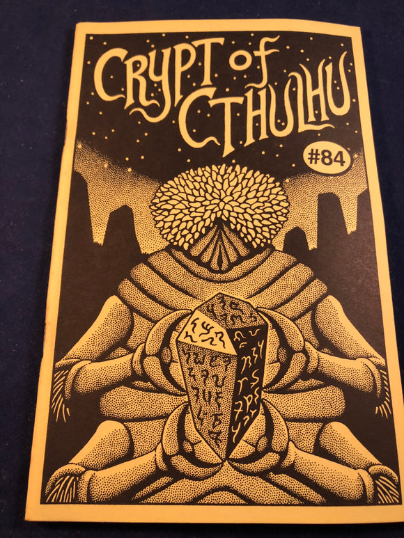 Crypt of Cthulhu - A Polyp Thriller and Theological Journal, Volume 12, Number 3, Lammas 1993, Robert M. Price, S. T. Joshi & Will Murray