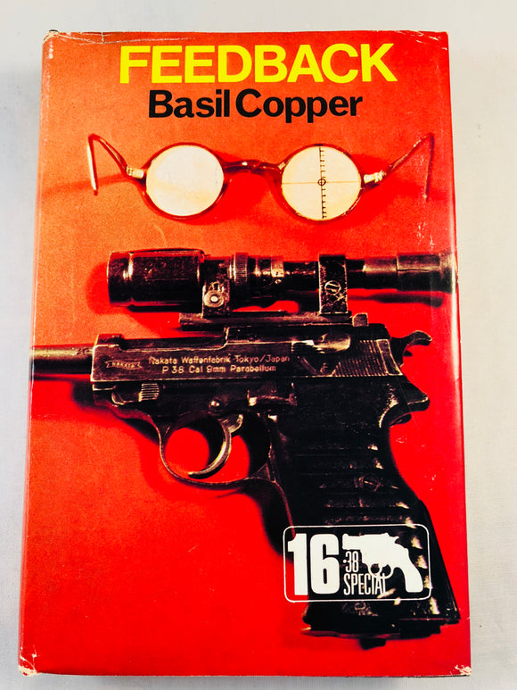 Basil Copper - Feedback (16), Robert Hale 1974, 1st Edition