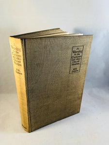 M. R. James - A Warning to the Curious and Other Ghost Stories, 1st Edition, 1st Printing