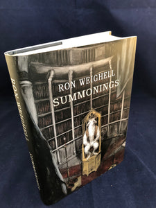 Ron Weighell - Summonings, Sarob Press 2014, Limited, Numbered and Signed Edition 84/325, Letters