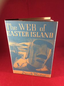 Donald Wandrei, The Web of Easter Island, Arkham House, 1948, Limited Edition.