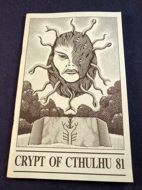 Crypt of Cthulhu - A Pots-strucuralist Thriller and Theological Journal, Volume 11, Number 3, St. John's Eve 1992, Robert M. Price, S. T. Joshi & Will Murray