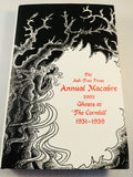 The Ash-Tree Press Annual Macabre 2003 - Ghosts at 'The Carnhill' 1931-1939, Limited to 500 Copies