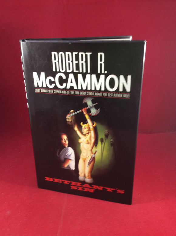 Robert R. McCammon, Bethany's Sin, Kinnell, 1989, First Hardcover Edition.