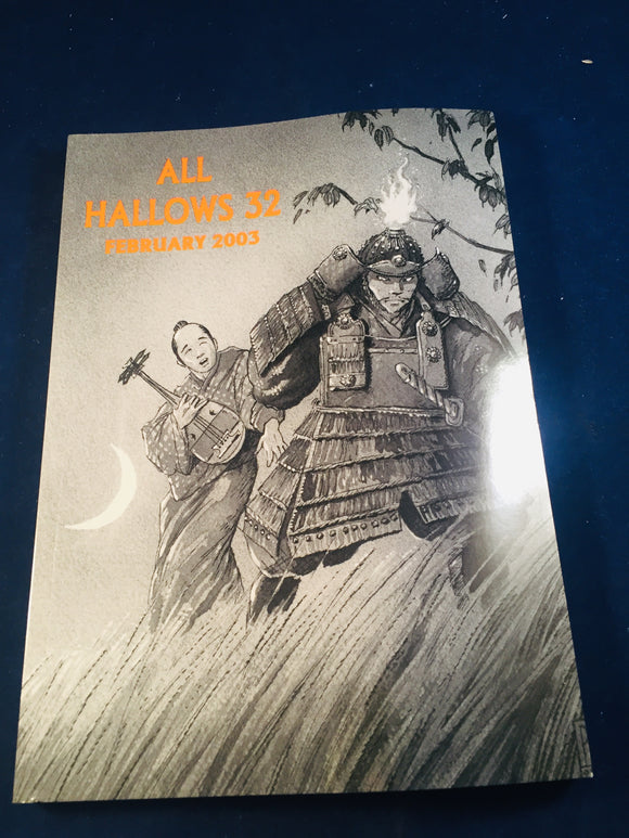 All Hallows 32 - Feb 2003, The Journal of the Ghost Story Society, Barbara Roden & Christopher Roden, Ash-Tree Press