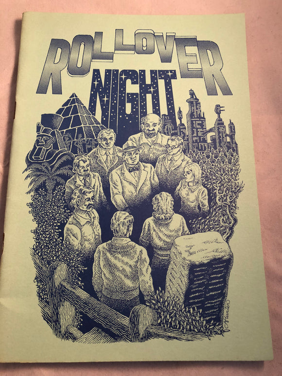Rollover Night, More Binscombe Tales by John Whitbourn - Haunted Library, Rosemary Parode 1990