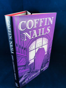 John Llewellyn Probert - Coffin Nails, Ash-Tree Press 2008, Limited to 400 Copies