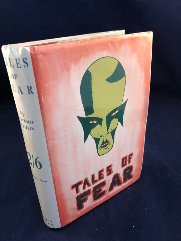 Vera A Gadd-Tales of Fear A Collection of Uneasy Tales, Creeps Series Philip Allen 1935, 1st