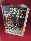 Lewis Spence, The History of Atlantis, Rider & Co, Third Edition, No Date.