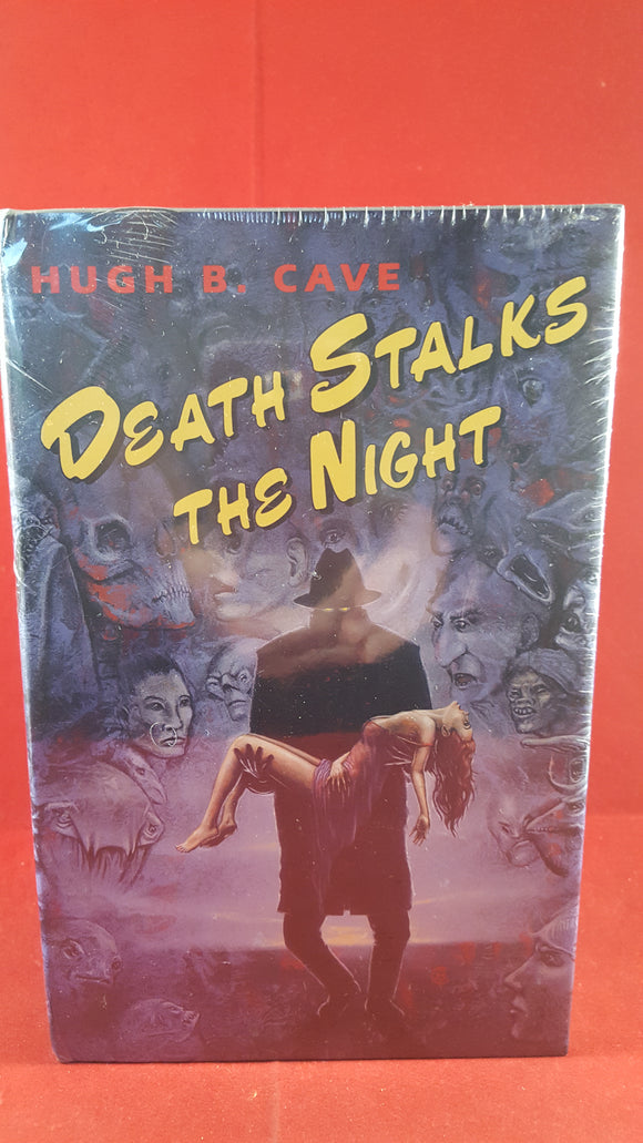 Hugh B. Cave - Death Stalks The Night, Fedogan & Bremer, Unopened Book