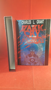 Charles L. Grant - The Dark Cry of The Moon, Donald M. Grant, 1985, signed copy 272/300