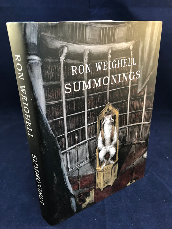 Ron Weighell - Summonings, Sarob Press 2014, Signed Edition 82/325, Letters