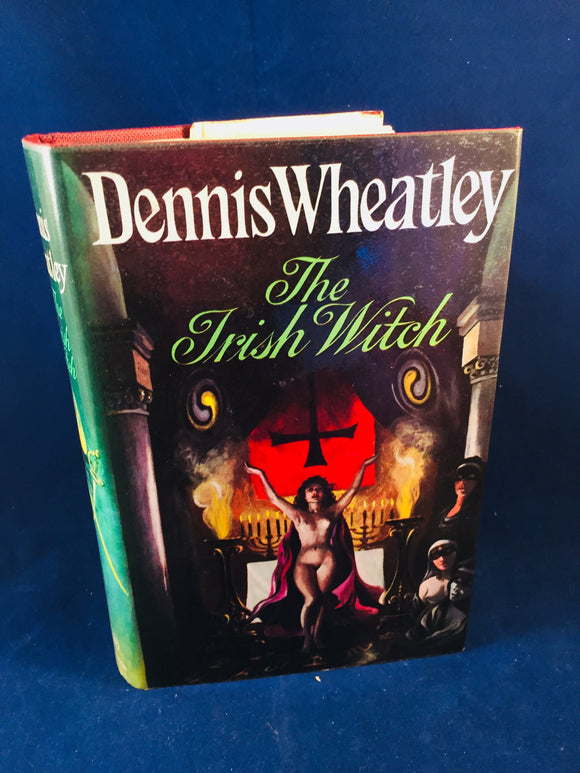 Dennis Wheatley - The Irish Witch, Hutchinson: London, 1973, 1st Edition, Inscribed by Dennis Wheatley