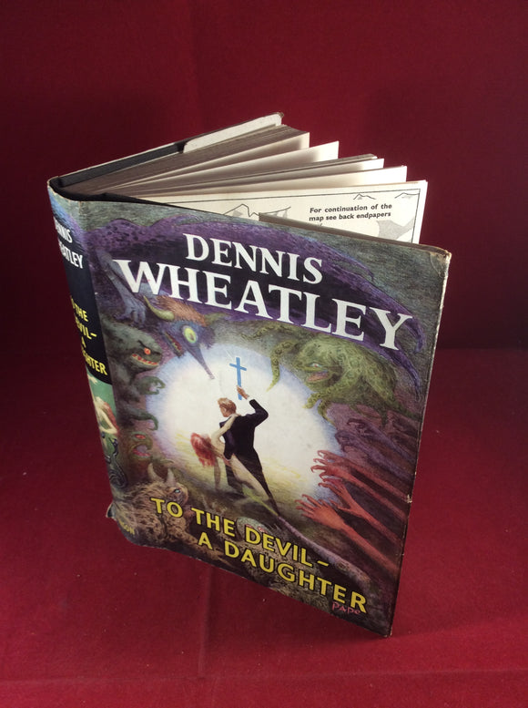 Dennis Wheatley, To The Devil- A Daughter, Hutchinson, 1953, First Edition, Signed and Inscribed.