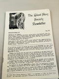 The Ghost Story Society Newsletter - Full run issue 1 (1988) through to issue 13 (1993)