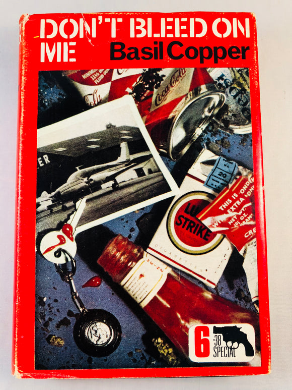 Basil Copper - Don't Bleed On Me (6), Robert Hale 1968, 1st Edition, Inscribed