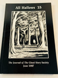 All Hallows 15 - June 1997, The Journal of the Ghost Story Society, Ash-Tree Press