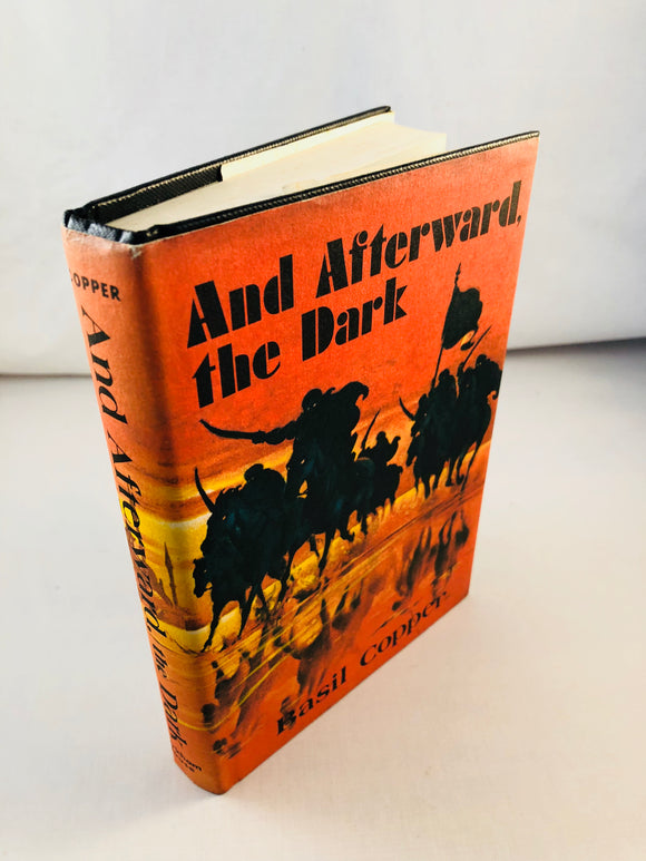 Basil Copper - And Afterward the Dark, Arkham House 1977, 1st Edition, Signed and Inscribed