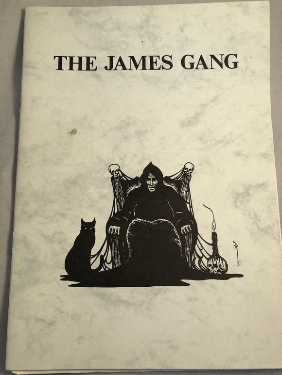 The James Gang - A Bibliography of Writers, Rosemary Pardoe 1985