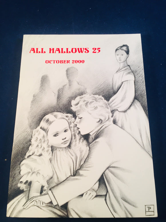 All Hallows 25 - Oct 2000, The Journal of the Ghost Story Society, Barbara Roden & Christopher Roden, Ash-Tree Press