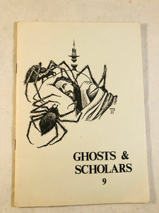 Ghosts & Scholars - Haunted Library, Rosemary Pardoe 1987, Issue 9