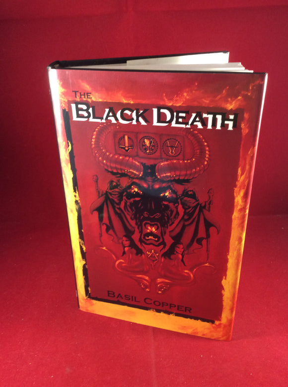 Basil Copper - The Black Death, Fedogan & Bremer, 1991, First Edition, Signed and Inscribed.