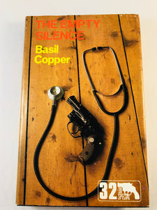 Basil Copper - The Empty Silence (32), Robert Hale 1981, 1st Edition, Inscribed and Signed