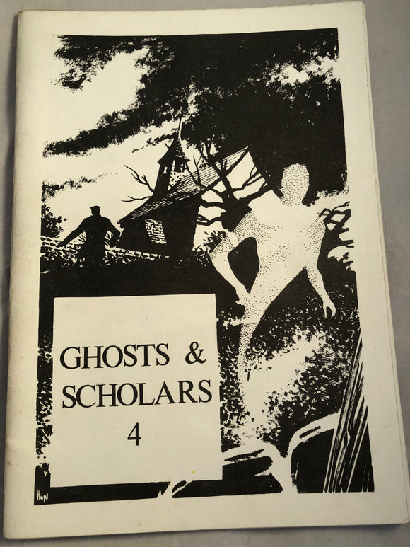 Ghosts & Scholars - Haunted Library, Rosemary Pardoe 1982, Issue 4