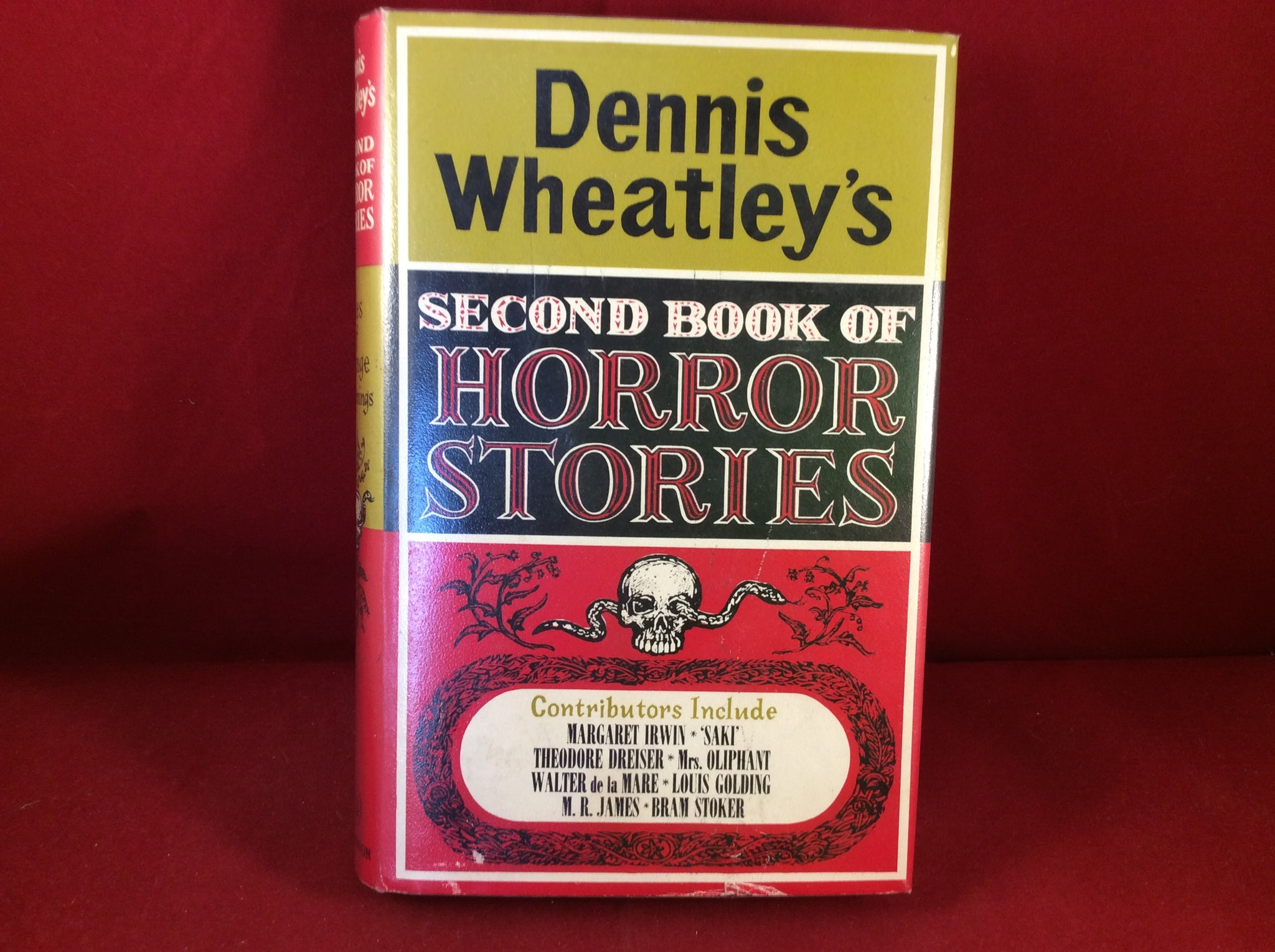 Dennis Wheatley, Second Book Of Horror Stories, Tales of