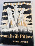 Basil Copper - From Evil's Pillow, Arkham House 1973, 1st Edition, Inscribed
