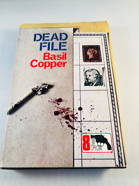 Basil Copper - Dead File (8), Robert Hale 1970, 1st Edition, Inscribed