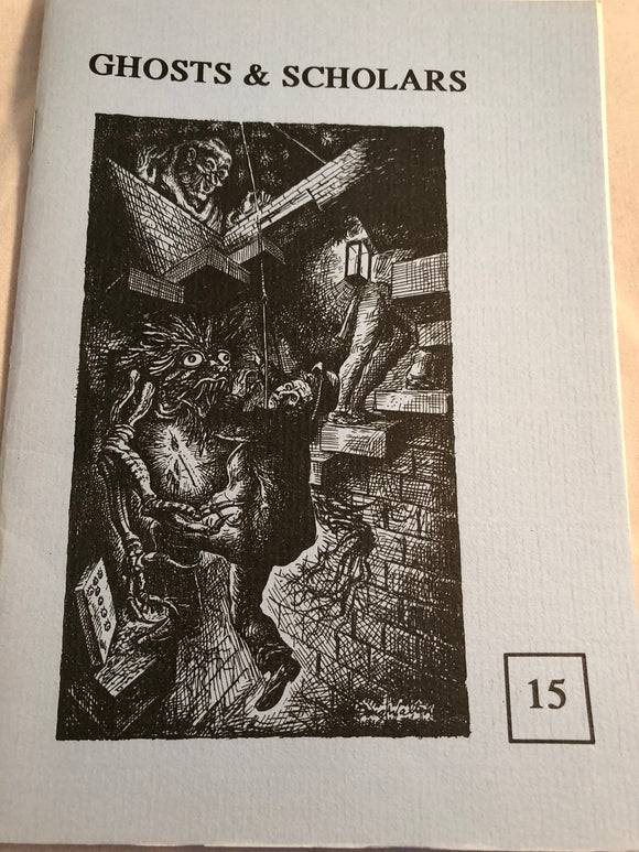 Ghosts & Scholars - Haunted Library, Rosemary Pardoe 1993, Issue 15
