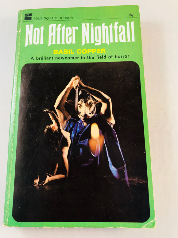 Basil Copper - Not After Nightfall, Four Square Books 1967, 1st Edition, Paperback, Inscribed and Signed