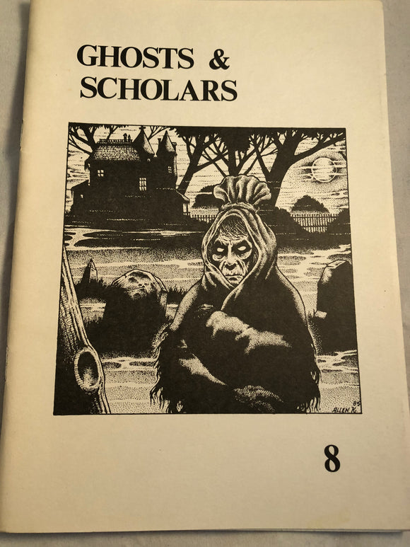 Ghosts & Scholars - Haunted Library, Rosemary Pardoe 1986, Issue 8