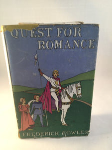 Frederick Cowles - Quest for Romance, Mariner Press 1947, 1st Edition