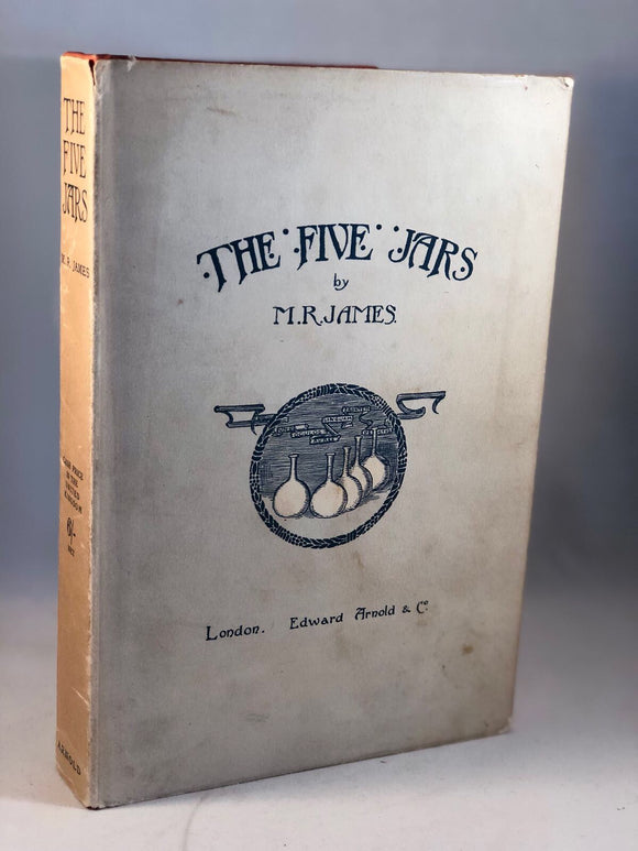 M. R. James - The Five Jars, Edward Arnold 1922, 1st Edition in Rare Dust Jacket